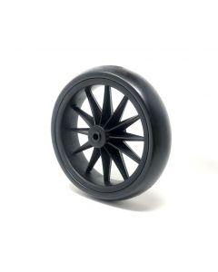 Kinderfeets Tiny Tot Balance Bike Wheel without Ball Bearing Black Replacement Part